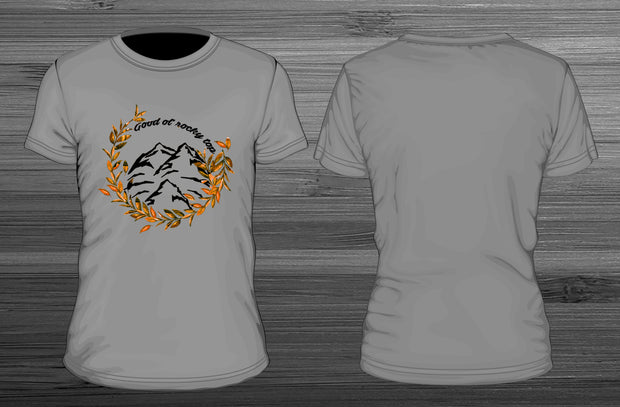 university of tennessee good ol rocky top t-shirt designed by amanda may