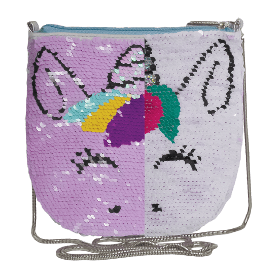 Unicorn Reversible Sequins Crossbody