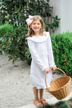 Easter Bunny Wreaths Long Sleeve Dress