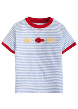 Fish Mini Applique TShirt