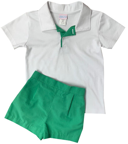 Parker Polo Set-Green