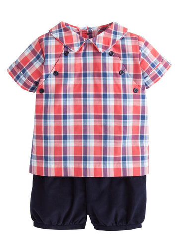 Walker Short Set - Frierson Plaid