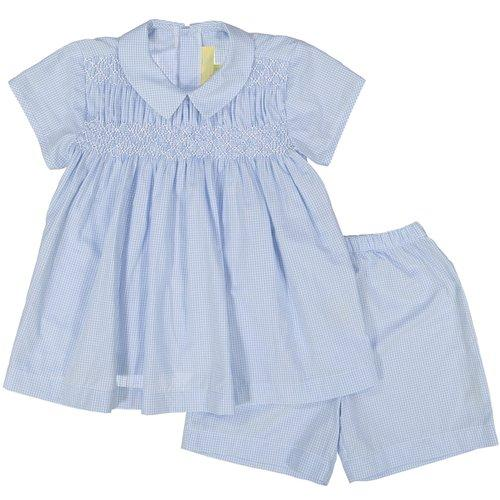 Smocked Apron and Short