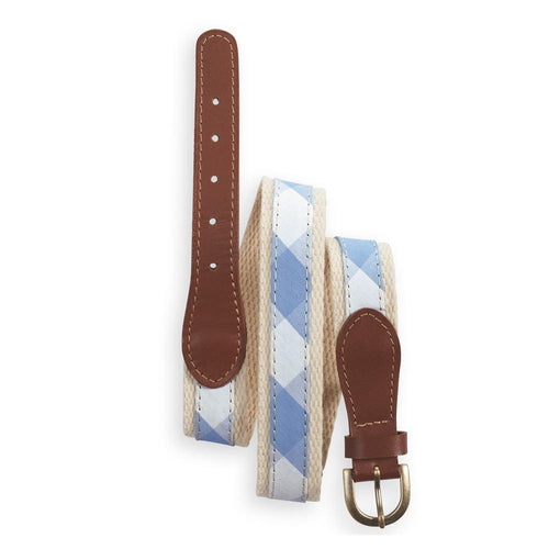 Skye Check Belt