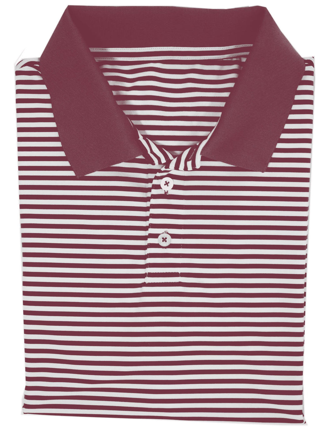 Lil Ducklings Gameday Polo Maroon-Short Sleeve