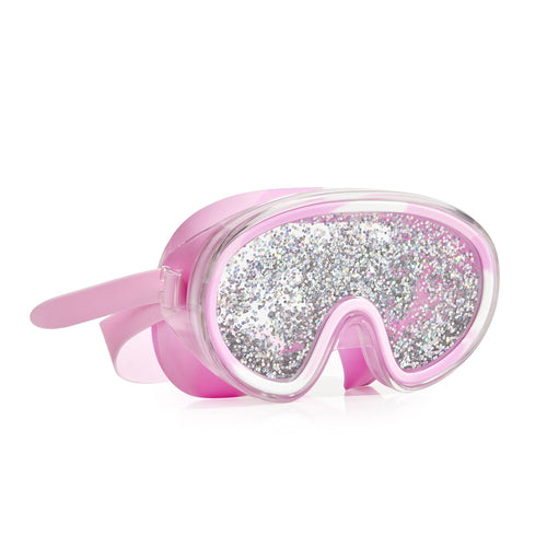 Disco Fever Mask - Glitter Bubblegum