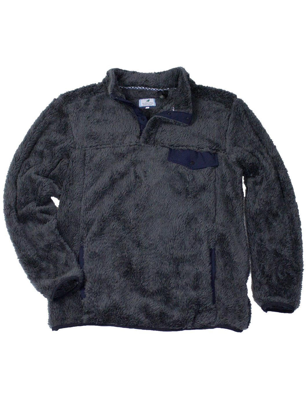 Lil Ducklings High Point Pullover Charcoal