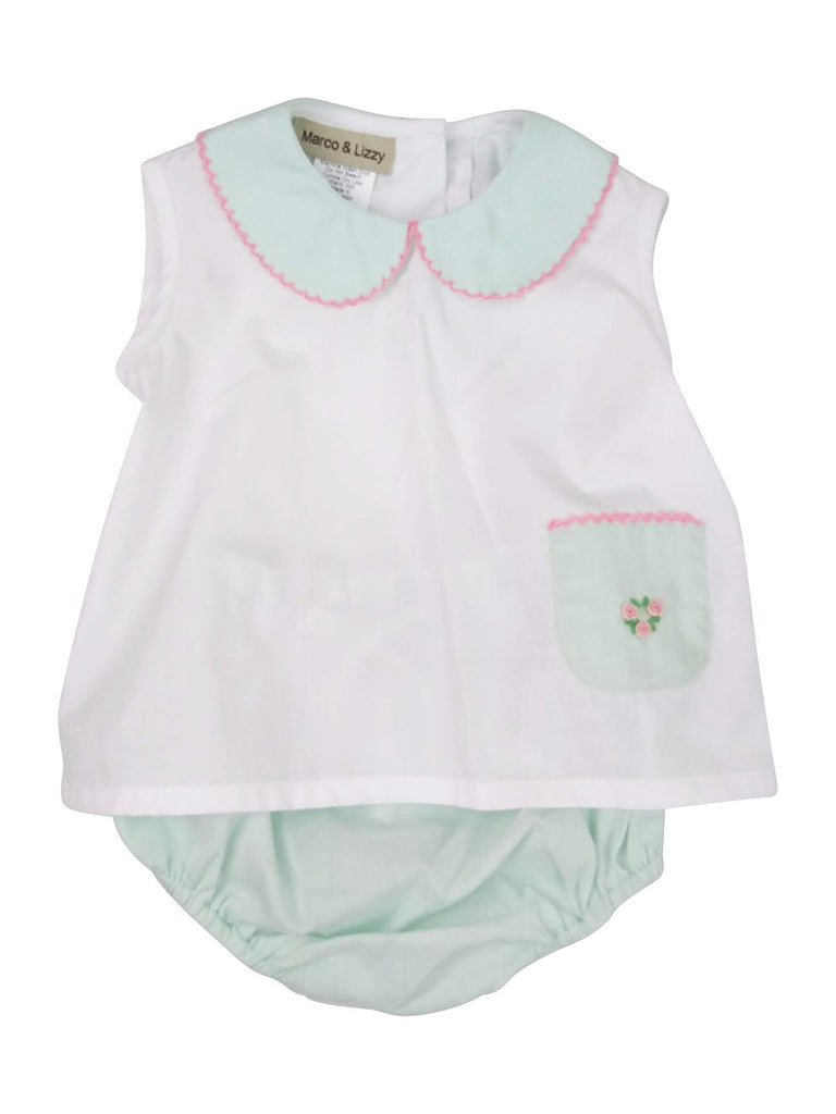 Mint Baby Diaper Cover Set