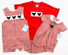 Mouse Ears Smocked Short Set