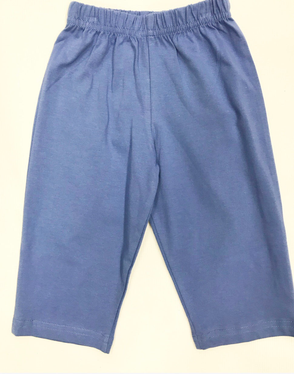 Chambray Knit Pants