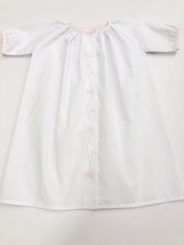 Embroidered Bow Daygown