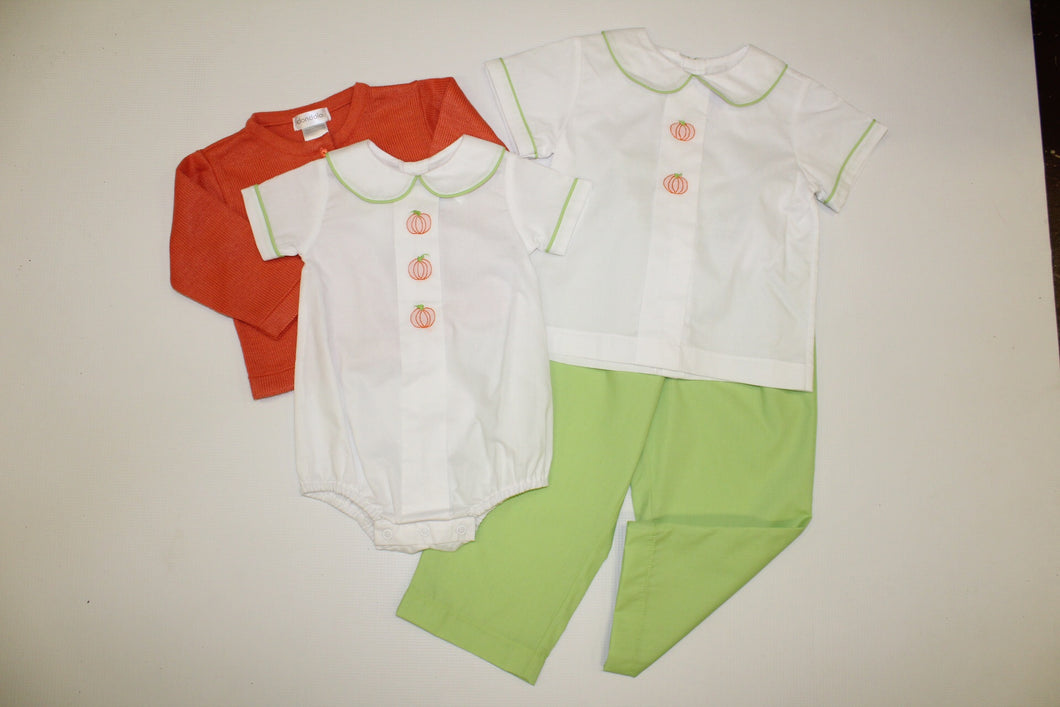 Boy Pumpkin Pant Set