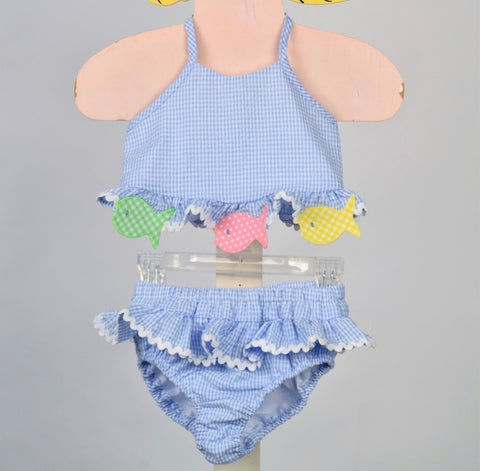 Fish 2pc Swimsuit