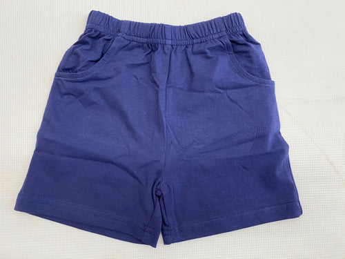 Dark Royal Jersey Short w/ Pockets