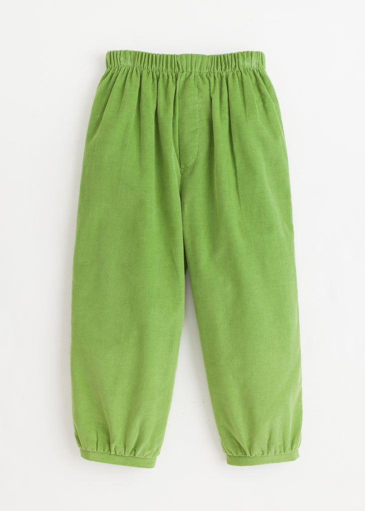 Sage Green Banded Pull On Pant