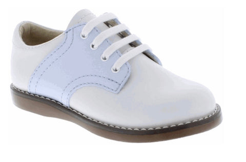 Footmates Light Blue Saddle