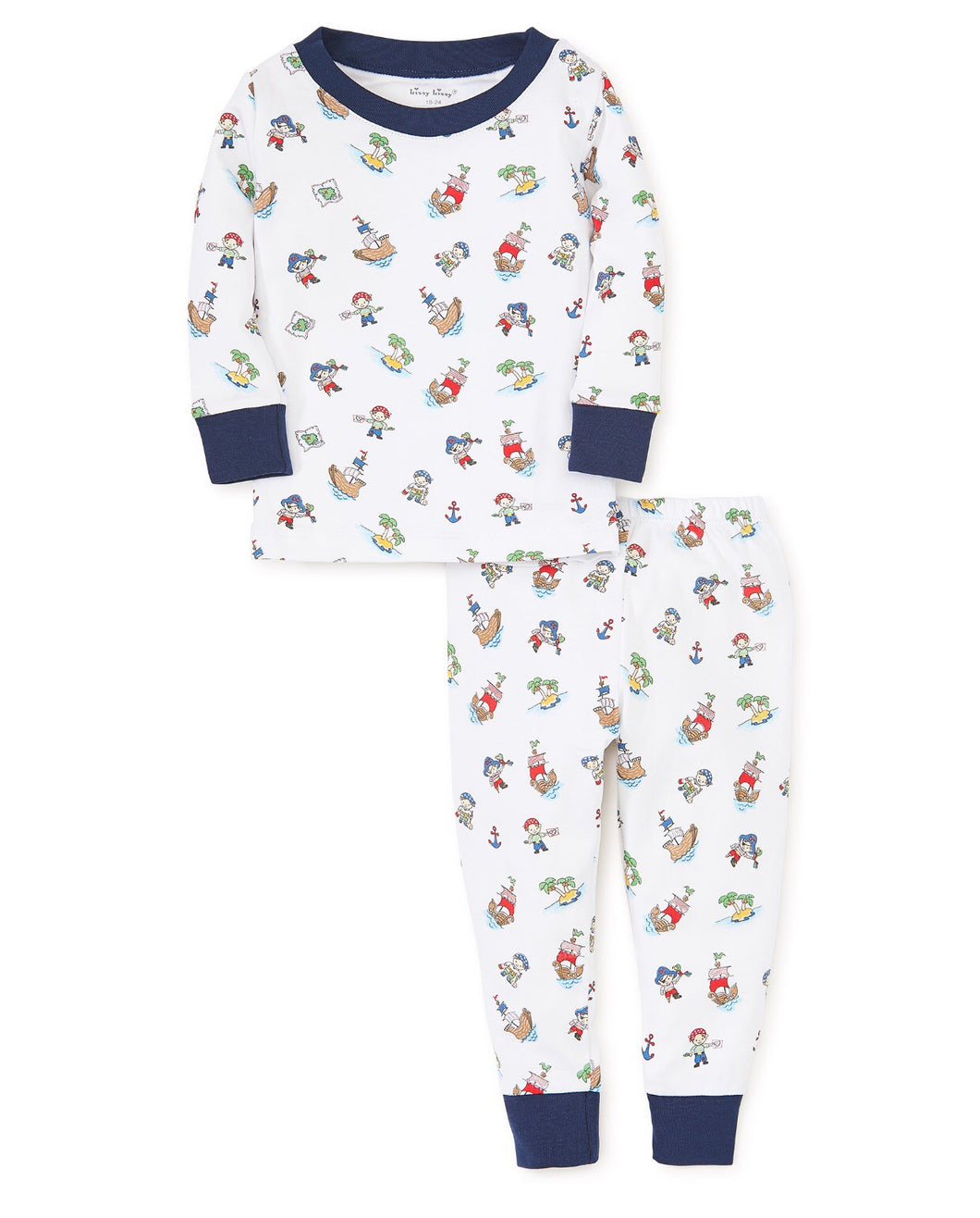 Pirate Treasure Long Sleeve Pajama Set