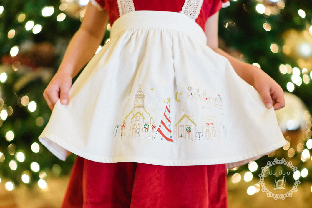 Christmas Village Apron