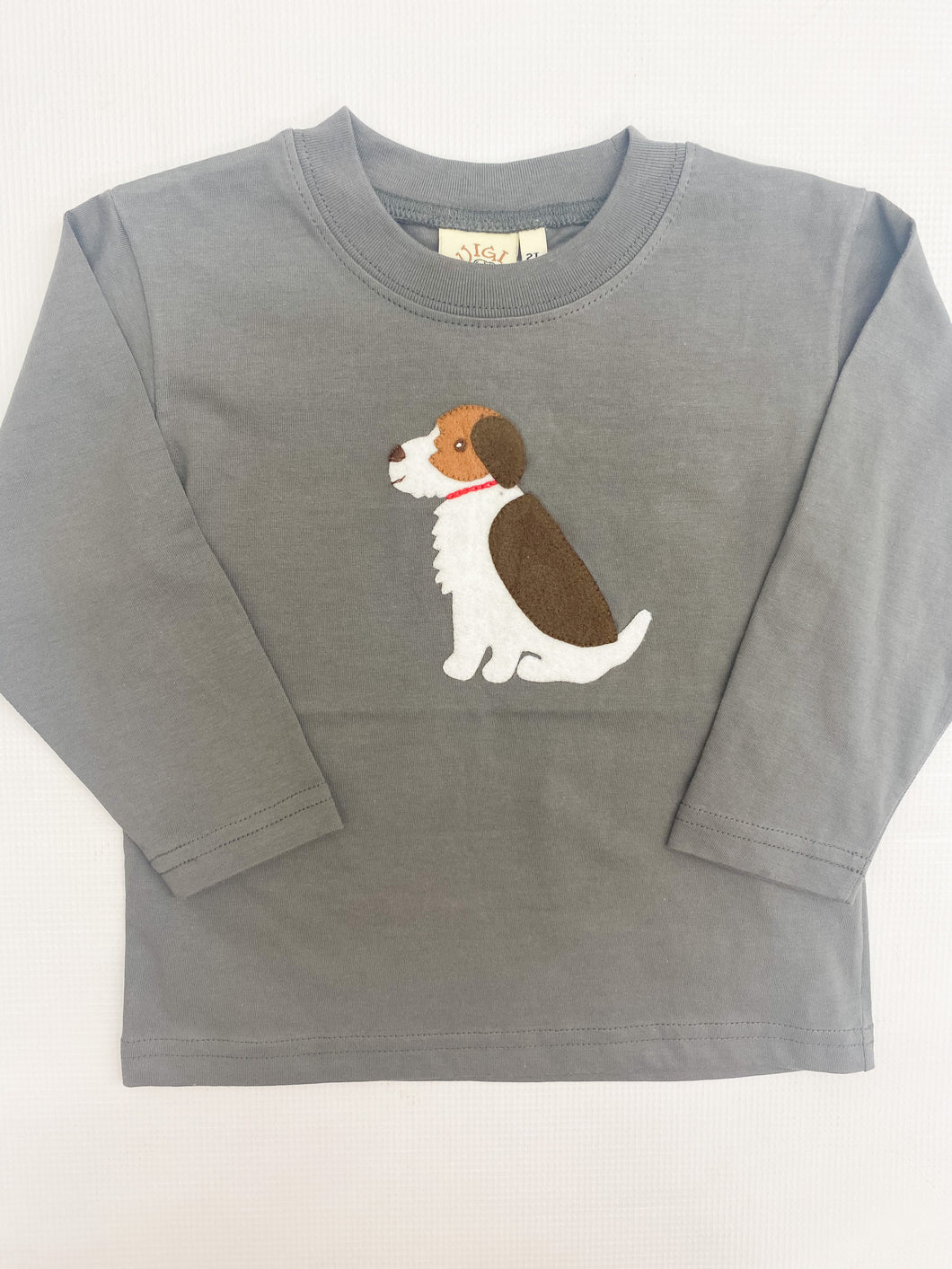 Charcoal Puppy T-Shirt