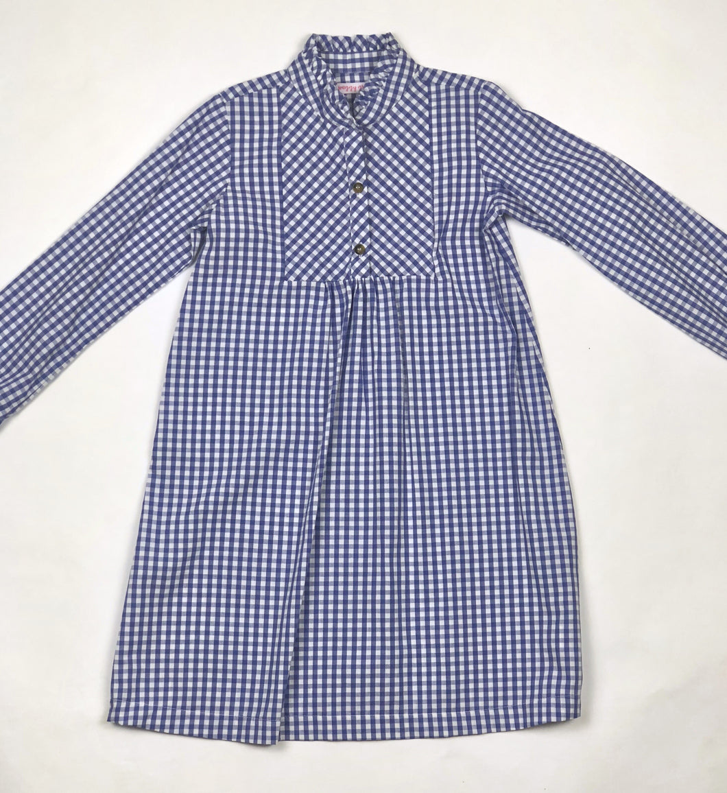 Royal Gingham Gretchen Dress