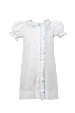 Smocked Blue Daygown