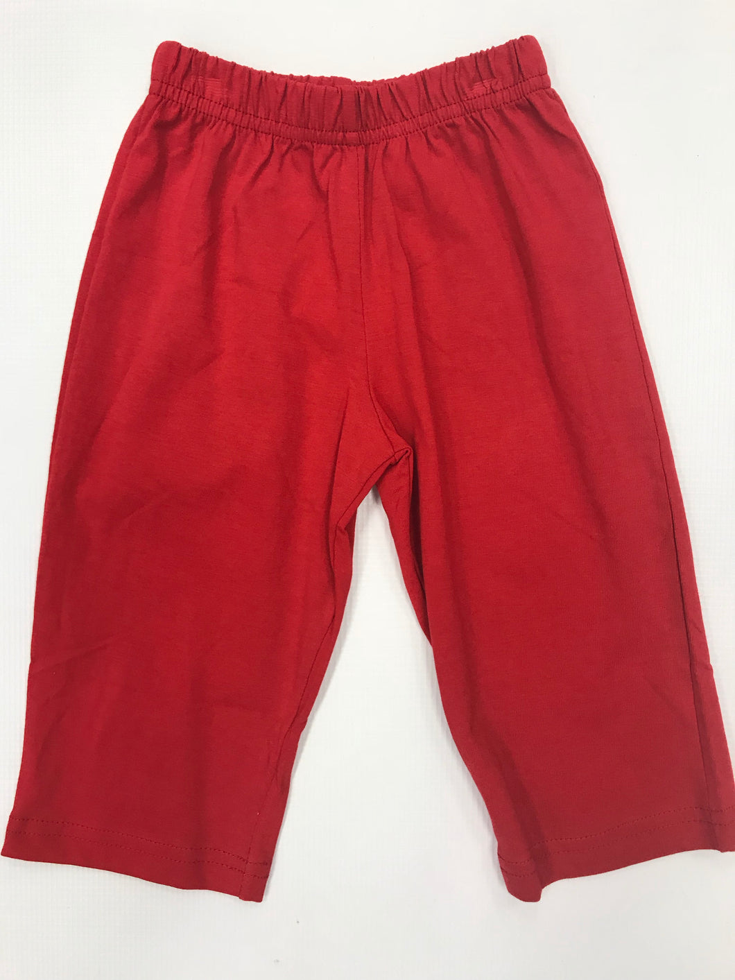 Deep Red Knit Pant