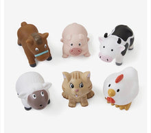 Barnyard Party Squirties Bath Toys