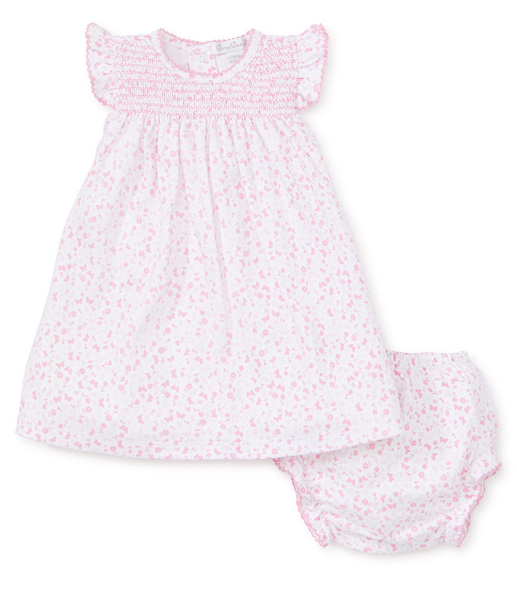 Mini Blooms Dress Set
