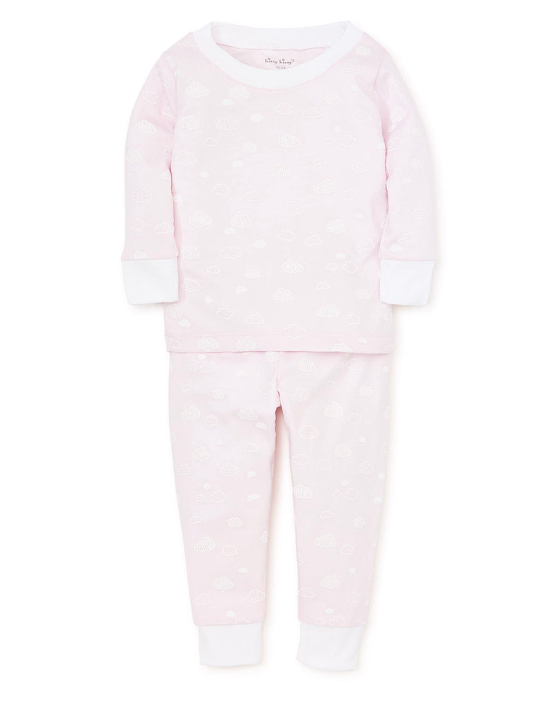 Pink Cloud Pajama Set