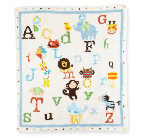 Alphabet Soup Blanket