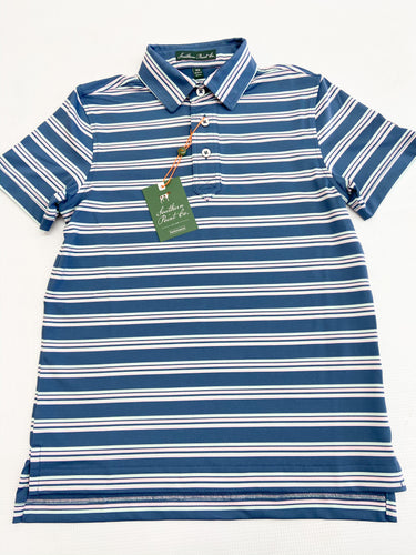 Youth Performance Polo-Real Teal