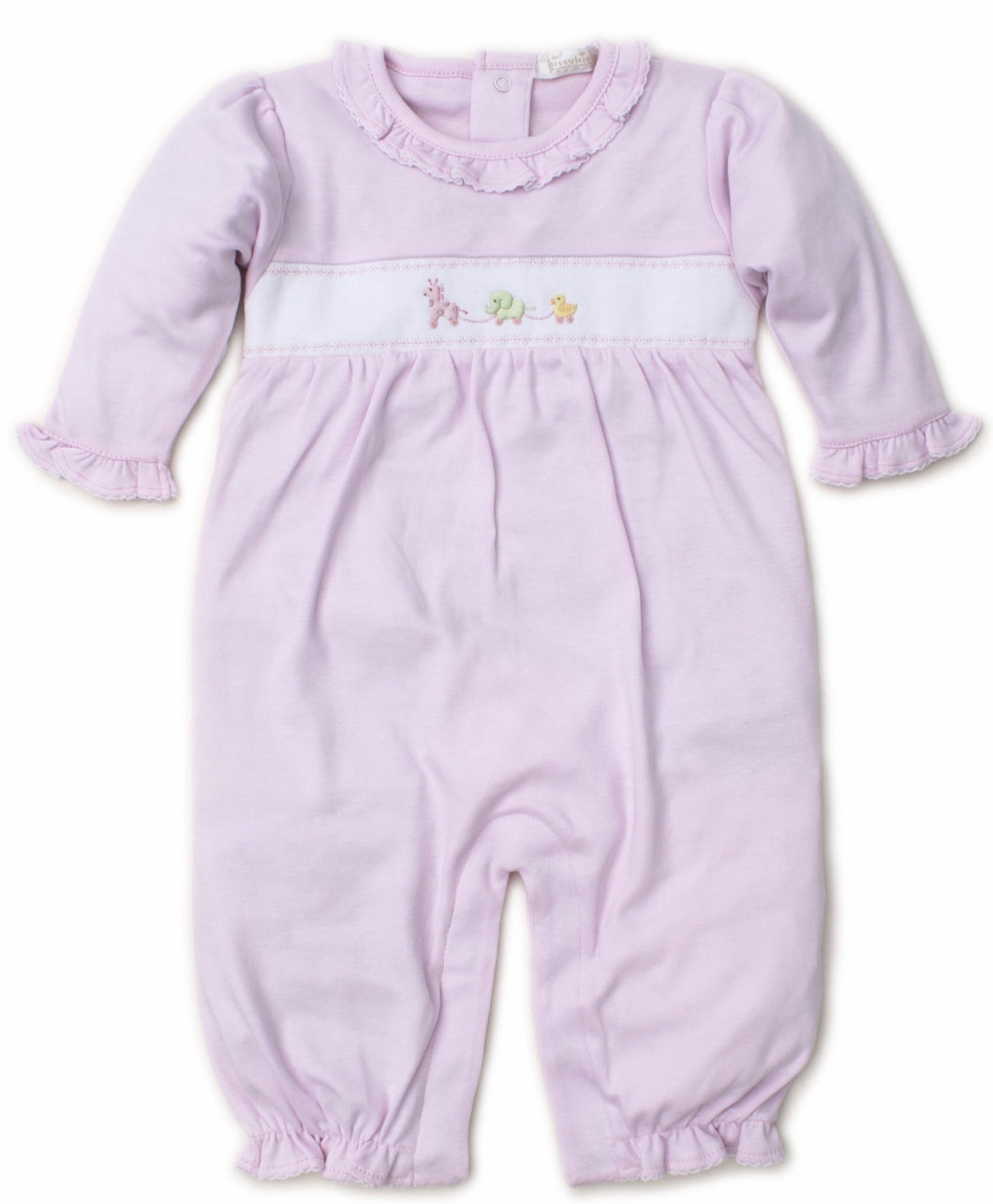 Pink Pull Toys Playsuit