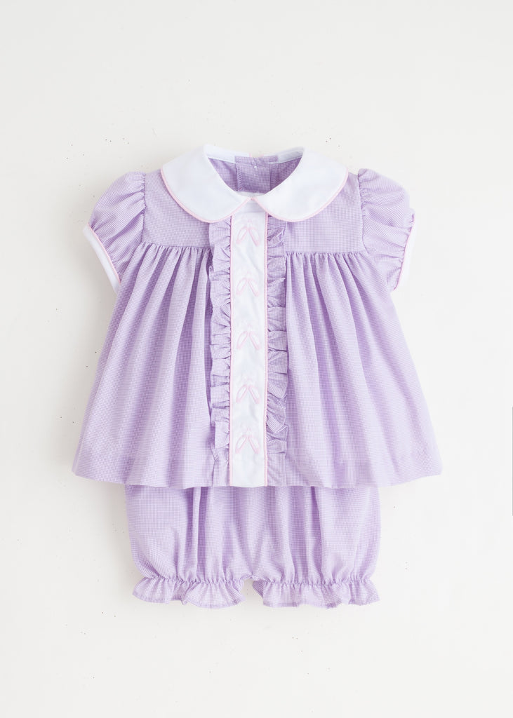 Ballet Ruffled Sally Bloomer Set