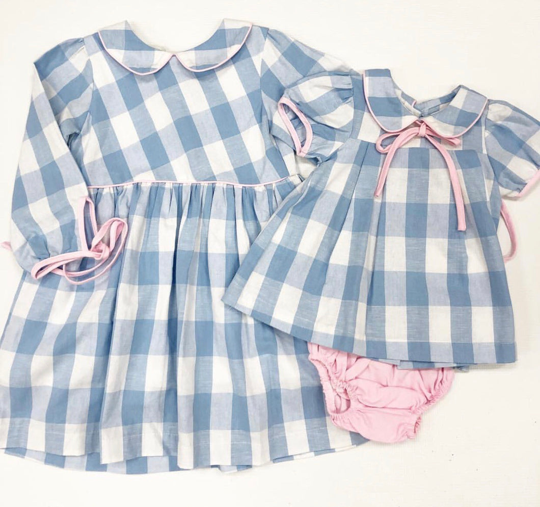Ellis Ann Blue Bloomer Set