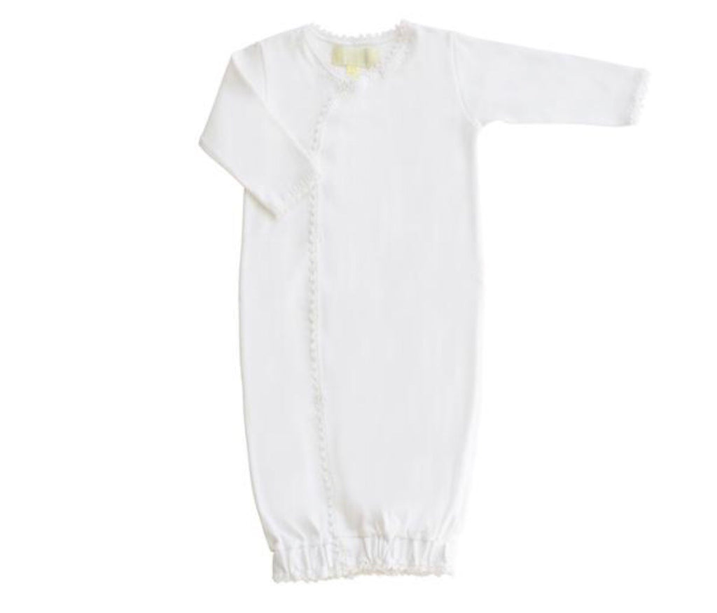 Jersey Wrap Sack - White