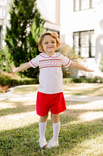 World Rejoicing boys banded short set