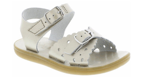 Soft Gold Footmates Ariel Sandal