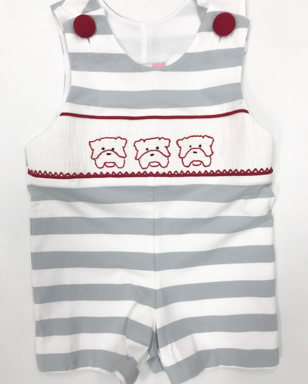 Bulldogs Smocked Knit JonJon