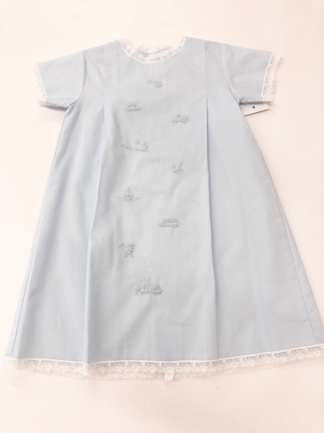 Blue Transportation Daygown