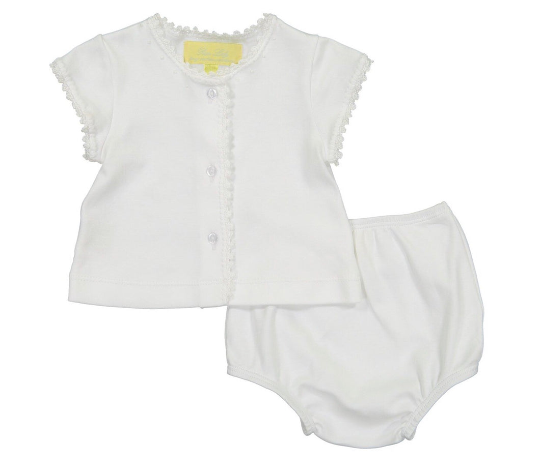 Diaper Set - White