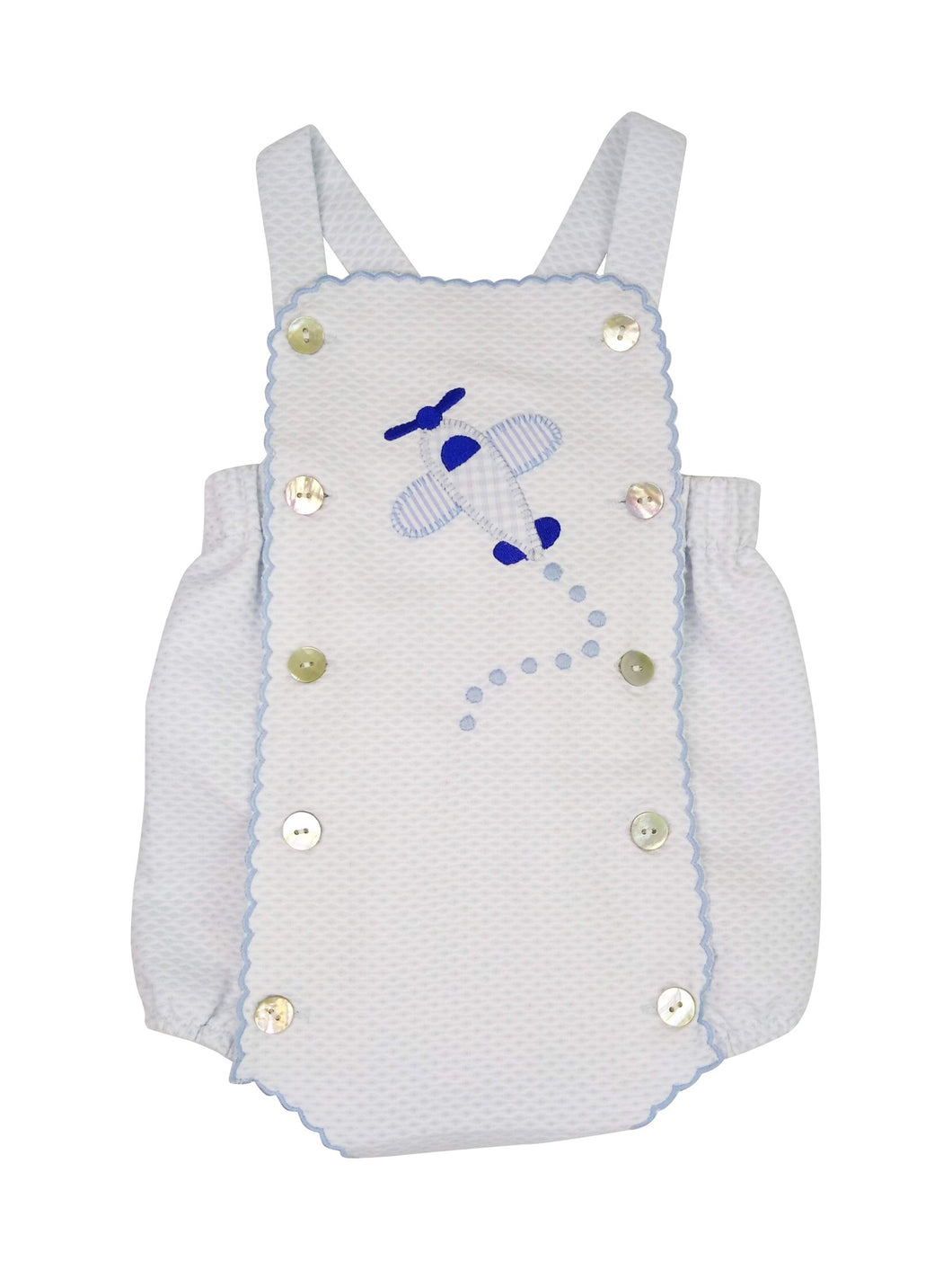 Carson Baby Boy Airplane Sunsuit