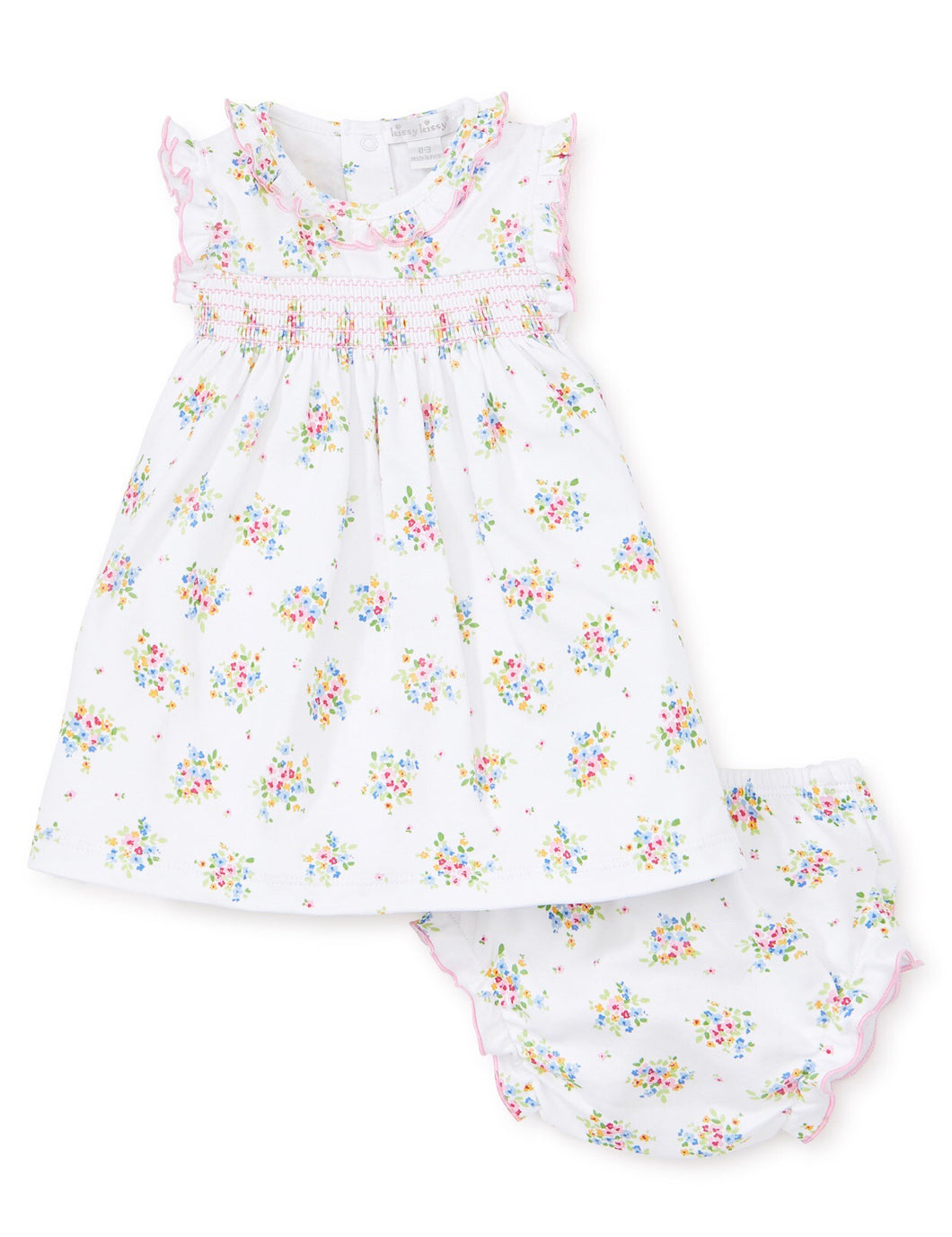 Petite Pansies Dress Set