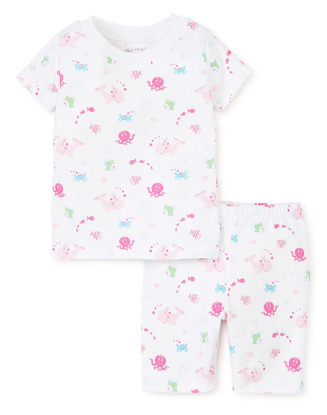 Under the Sea Fuschia Short PJ Set