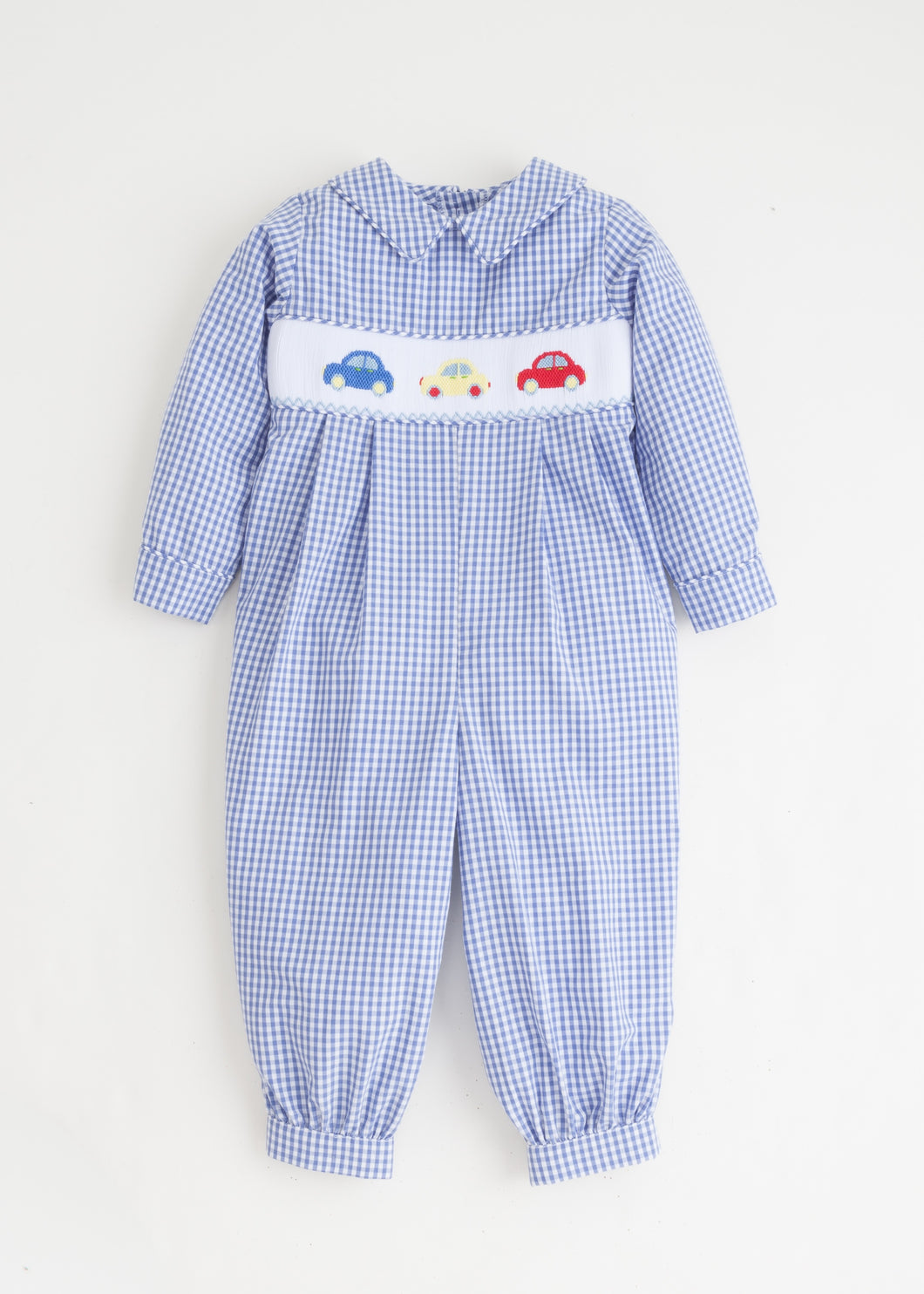 Car Smocked Romper