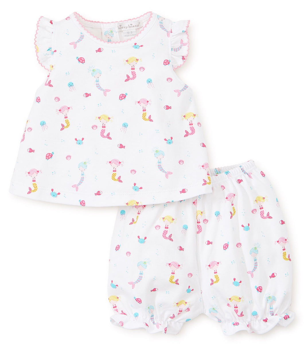 Mermaid Fun Sunsuit Set
