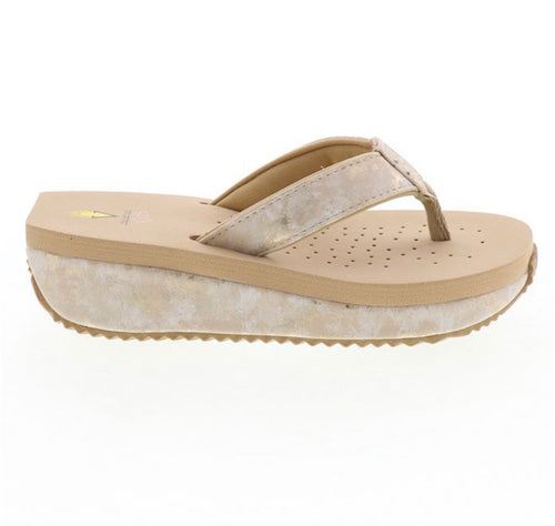 High-five Natural Wedge Sandal