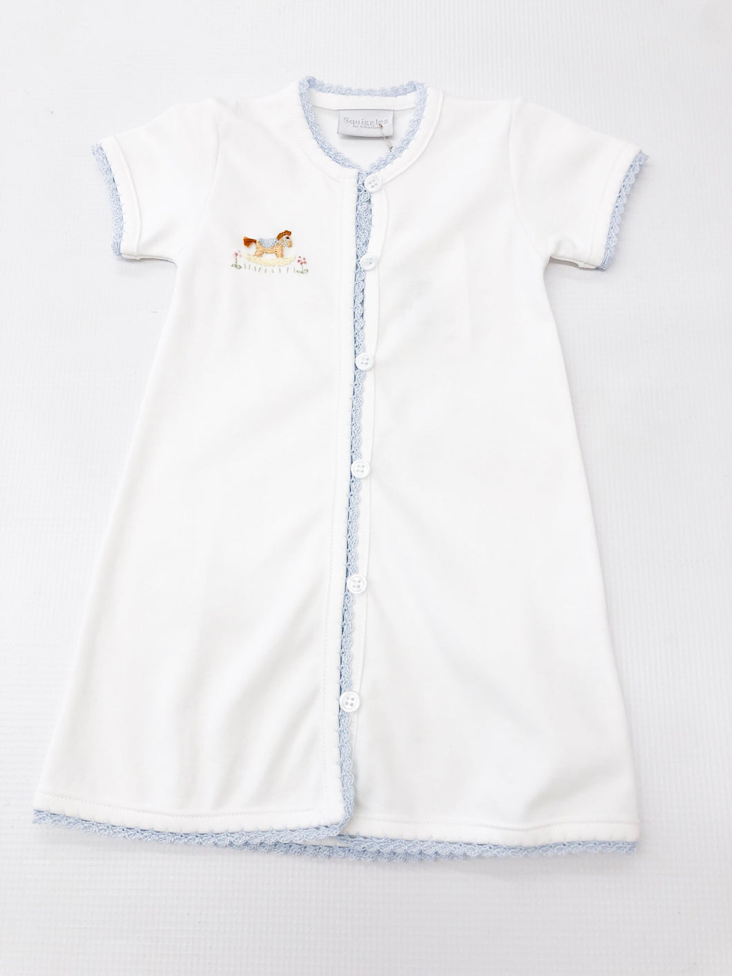 Rocking Horse Short Sleeve Daygown