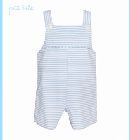 Light Blue Stripe Knit JonJon