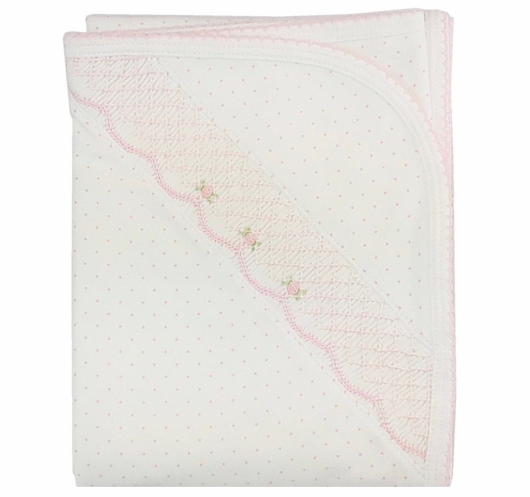 Sweet Pink Dots Blanket