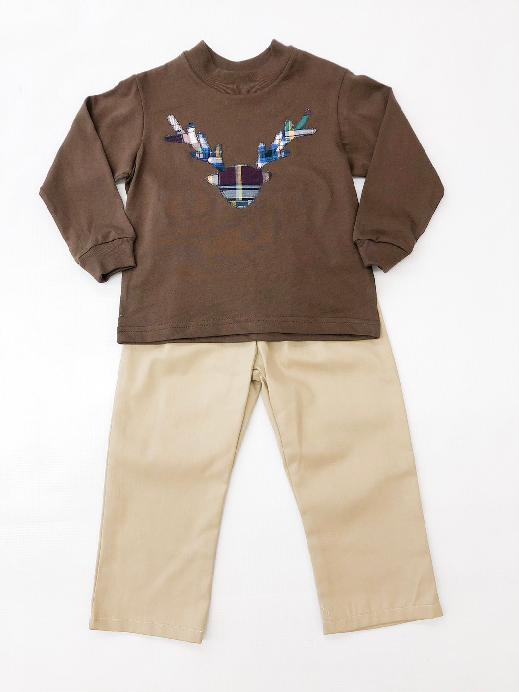 Antlers Applique Pant Set
